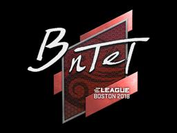 Sticker | BnTeT | Boston 2018