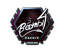 Sticker | Boombl4 (Foil) | London 2018