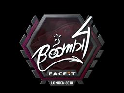 Sticker | Boombl4 | London 2018