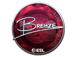 Sticker | Brehze (Foil) | Katowice 2019