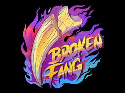 Sticker | Broken Fang (Holo)