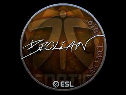 Sticker | Brollan (Foil) | Katowice 2019