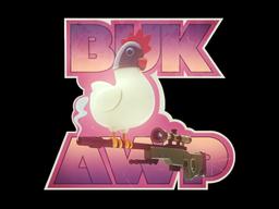 Sticker | BukAWP