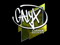 Sticker | Calyx (Foil) | Boston 2018