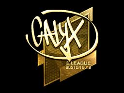 Sticker | Calyx (Gold) | Boston 2018