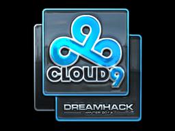Sticker | Cloud9 (Foil) | DreamHack 2014