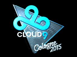 Sticker | Cloud9 G2A (Foil) | Cologne 2015