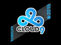 Sticker | Cloud9 G2A | Katowice 2015