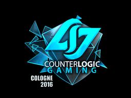 Sticker | Counter Logic Gaming (Foil) | Cologne 2016