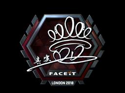 Sticker | DD (Foil) | London 2018