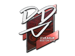 Sticker | DD | Boston 2018