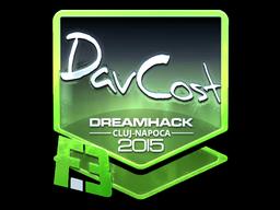 Sticker | DavCost (Foil) | Cluj-Napoca 2015
