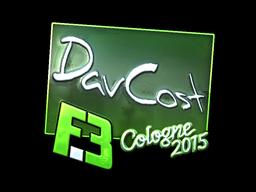 Sticker | DavCost (Foil) | Cologne 2015