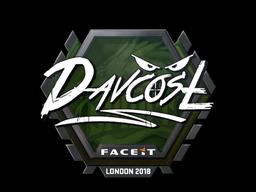 Sticker | DavCost | London 2018