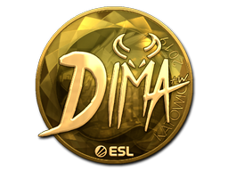 Sticker | Dima (Gold) | Katowice 2019