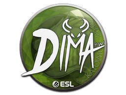Sticker | Dima | Katowice 2019
