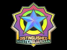 Sticker | Distinguished Master Guardian (Holo)
