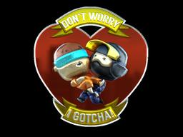 Sticker | Don't Worry (Foil)
