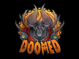 Sticker | Doomed