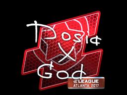 Sticker | Dosia (Foil) | Atlanta 2017