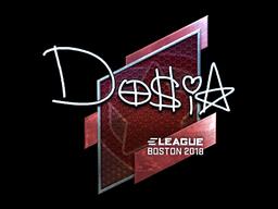Sticker | Dosia (Foil) | Boston 2018