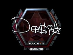 Sticker | Dosia (Foil) | London 2018