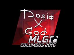 Sticker | Dosia (Foil) | MLG Columbus 2016