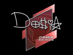 Sticker | Dosia | Boston 2018
