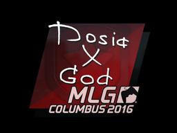 Sticker | Dosia | MLG Columbus 2016