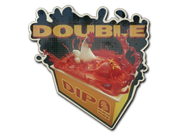 Sticker | Double Dip