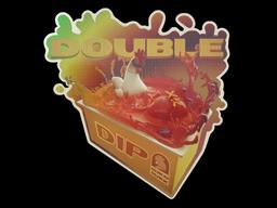Sticker | Double Dip (Holo)