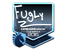 Sticker | FugLy (Foil) | Cluj-Napoca 2015