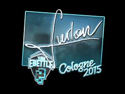 Sticker | Furlan (Foil) | Cologne 2015