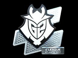 Sticker | G2 Esports (Foil) | Atlanta 2017