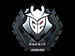 Sticker   G2 Esports (Foil)   London 2018