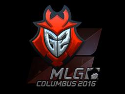 Sticker | G2 Esports (Foil) | MLG Columbus 2016