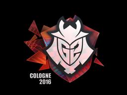 Sticker   G2 Esports (Holo)   Cologne 2016