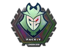 Sticker   G2 Esports (Holo)   London 2018