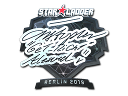 Sticker | GeT_RiGhT (Foil) | Berlin 2019