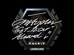 Sticker | GeT_RiGhT (Foil) | London 2018