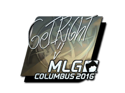 Sticker | GeT_RiGhT (Foil) | MLG Columbus 2016