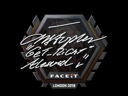 Sticker | GeT_RiGhT | London 2018