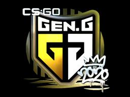 Sticker   Gen.G (Foil)   2020 RMR