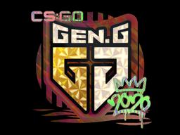 Sticker   Gen.G (Holo)   2020 RMR