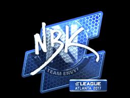 Sticker | NBK- (Foil) | Atlanta 2017
