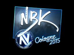 Sticker   NBK- (Foil)   Cologne 2015