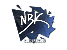 Sticker   NBK-   Cologne 2016
