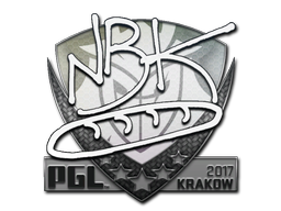 Sticker | NBK- | Krakow 2017