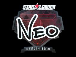 Sticker | NEO (Foil) | Berlin 2019