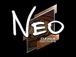 Sticker | NEO (Foil) | Boston 2018